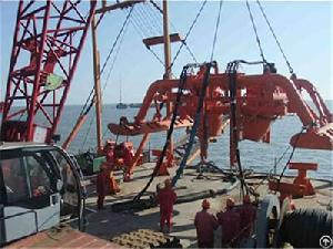 yuedong oil submarine offshore pipeline post trenching project 2011 2012
