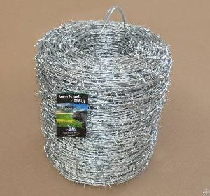 12ga x dipped galvanized barbed wire