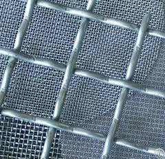gavlanized crimped wire mesh
