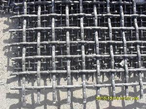 High Carbon Steel Mine Sieving Mesh Akmsm16