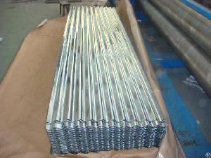 rolled steel galvanized corrugated roofing sheet