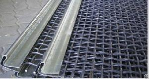 rock crusher sieving screen mesh sheet