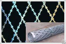 welded flat rrazor wire fence