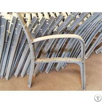 foundry outdoor bench chair leg