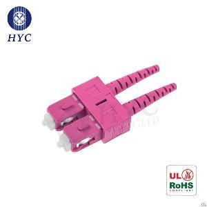 Sc Simplex Duplex Connector Sm Mm Sc Fiber Optic Connectors