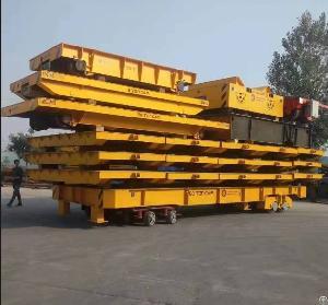 Remote Control Heavy Load Warehouse Die Handler Transport Cart Truck Trailer