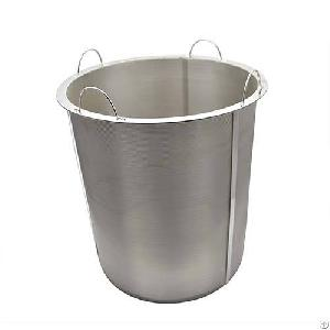 Chemical Sintered Wire Cloth Basket Filter Cylinder