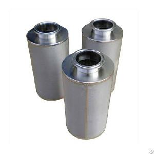 ss layer sintered filter element tube filtration