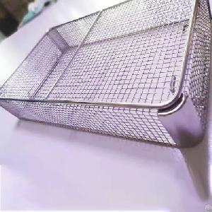 stainless steel medical corner disinfection basket