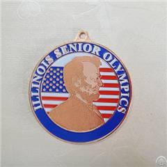 Copper Brass 2d Image Medal