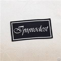 fashion customized sewing labels shirt bags garment label tag woven clothes