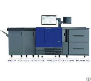 Cmyk Digital Color Printing Machine Seap Cp7000 Cmyk Digital Printer