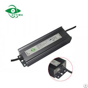 12v 80w triac dimmable led driver waterproof ip67 supplier