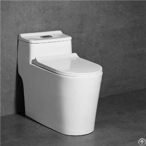Efficient Flushing Bathroom One-piece Toilet Floor Mounted