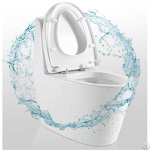 Hot Selling Water Saving One-piece Toilet Silent Flush With Glazed Trap