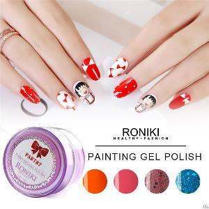 Nail Art Gel, Painting Color Gel Factory