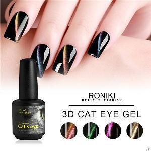 roniki 3d cat eye gel polish