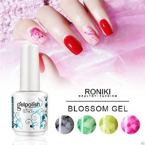 roniki blooming gel nail painting
