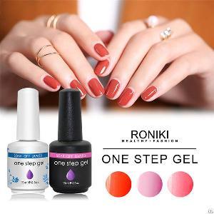 roniki step gel polish nail painting