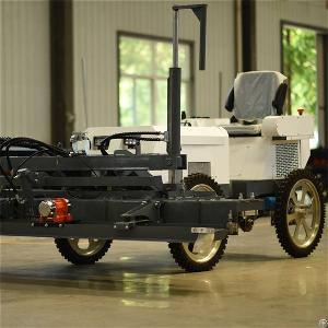 s740 ride concrete laser screed machine