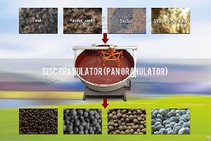 Low Price High Yield Disc Fertilizer Granulator