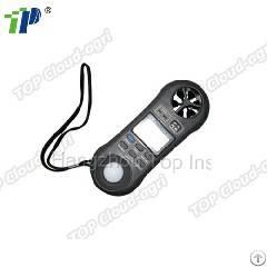 portable handheld meteorological apparatus