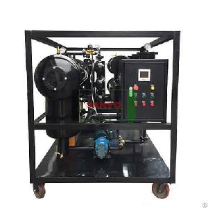 Zyc Vacuum Cooking Oil Filtration Machine