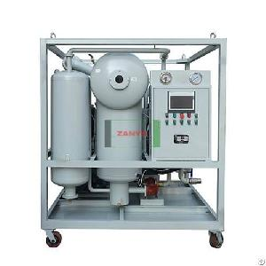 Zyd-p Plc Control Transformer Oil Purifier