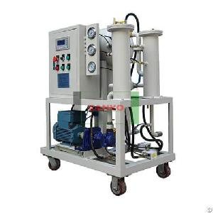 zyj coalescence separation oil filtration machine