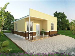 environmental protection assembled house