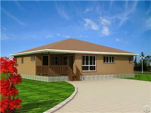 Prefab Villa Energy Conservation, Environmental Protection And Easy Assembled Villa