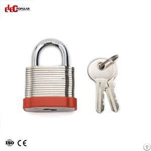 19mm Laminated Steel Shackle Safety Padlocks Ep-8561