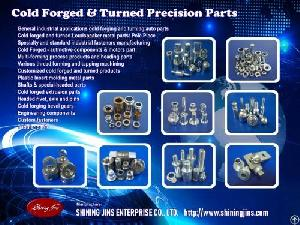 fastener cold forged turned taiwan
