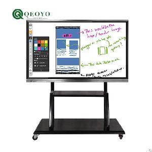 school electric smart interactive board 4k hd digital whiteboard
