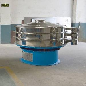 circular vibrating screen vibro sieve sifter separator machine