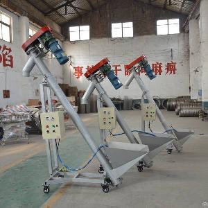 Small Pelletizer Line Vertical Lifting Flexible Screw Feeder Vibrating Spiral Elevator Conveyor