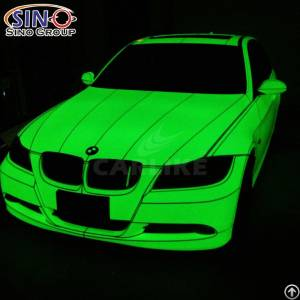 Cl-pl Photoluminescent Glow In The Dark Car Wrap Vinyl Sticker