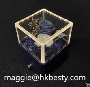 flower jewellery box led lighting