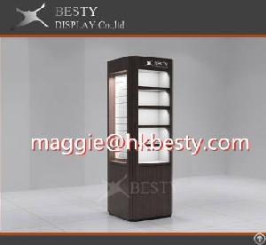 customized showcase display cabinet glass cabinets