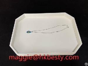 customized luxury jewelry display tray