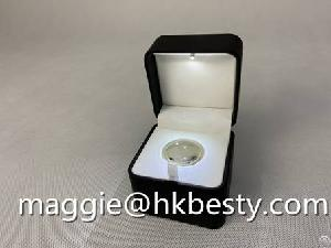 jewellery box ring led light jewelry magnifier
