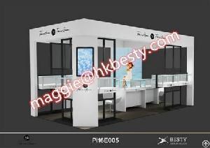 modern jewelry showcase display counter store