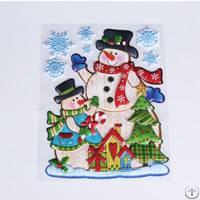 pop up christmas sticker window home decorations