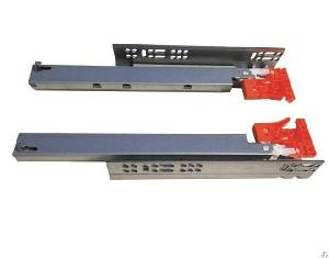 Push To Opening Soft Close Ball Bearing Drawer Slides China Factory