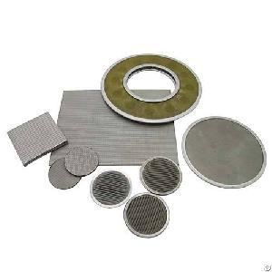 stainless steel mesh sieve disc