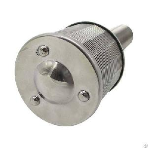 stainless steel sugar mill filter nozzle wedge wire screen