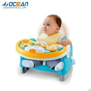 Portable Dining Feeding Baby Table Chair With Music Light