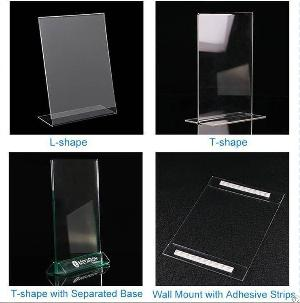 factory wholesale customized acrylic display stands