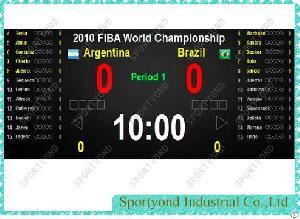 Basketball Score Software System