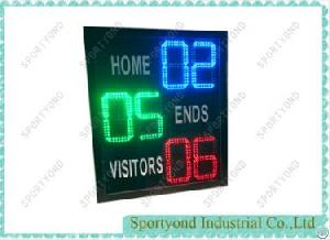 electronic digital lawn bowls scoreboard